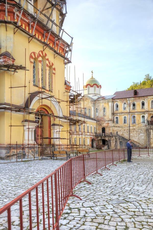 Download Abkhazia Nowy Athos Simon Gorliwa Monaster Obraz Stock Editorial - Obraz złożonej z monaster, góra: 106900044