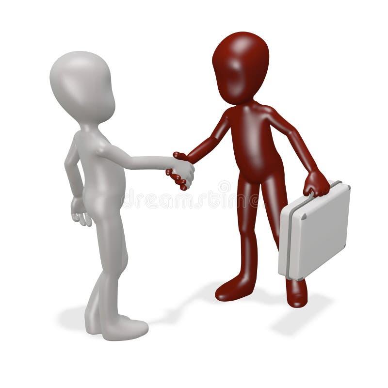 Abkommen lizenzfreie abbildung