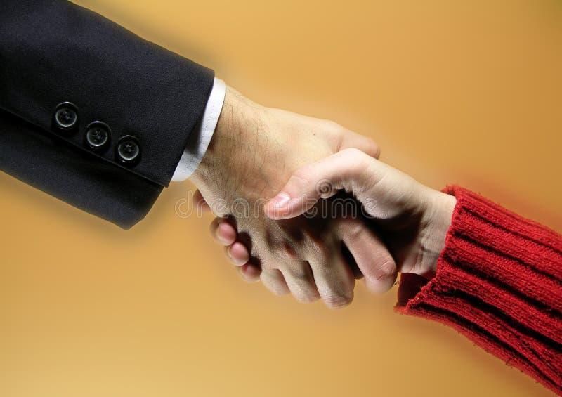 Abkommen stockbild