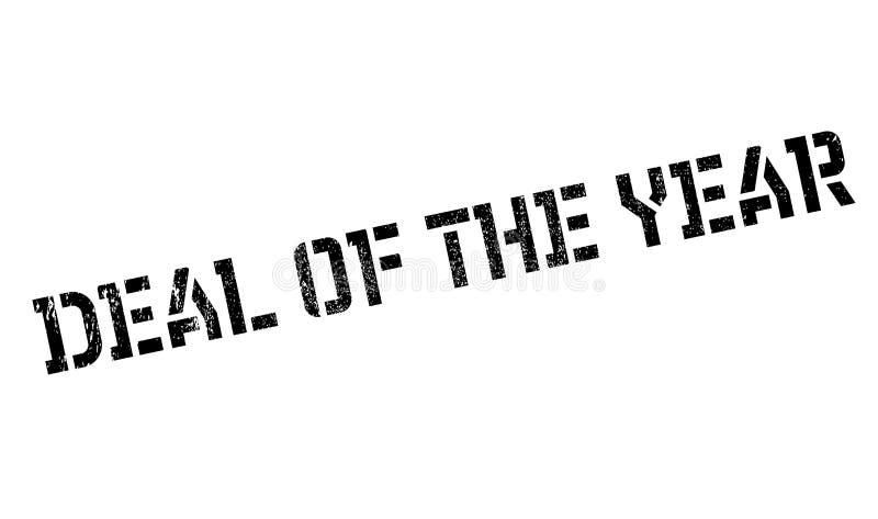 Abkommen des Jahrstempels vektor abbildung