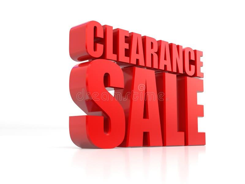 Abkommen des Tages, Verkäufe förderndes Element, Wiedergabe der Verkaufsfahne 3D lokalisiert auf weißem Hintergrund, Sonderangebo lizenzfreie abbildung