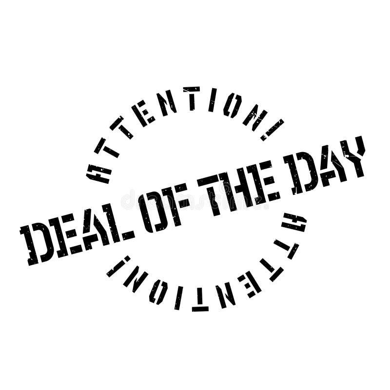 Abkommen des Tagesstempels lizenzfreie abbildung