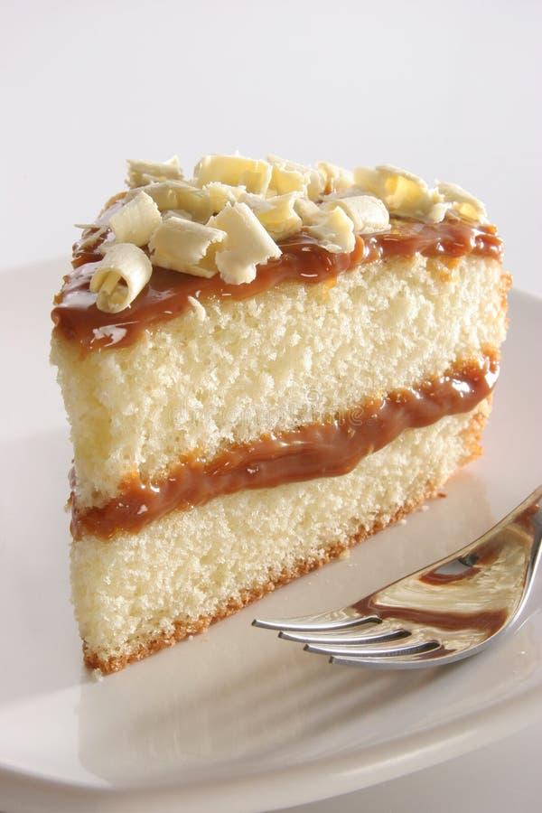ablegrujący kawałek ciasta obraz royalty free