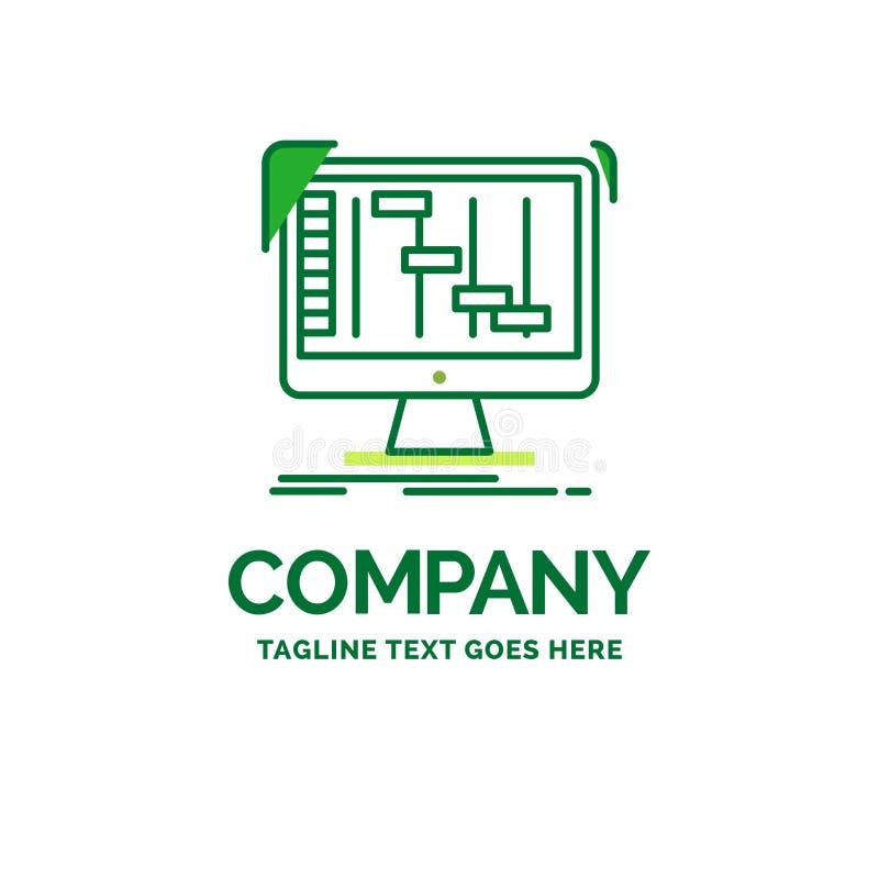 Ableton,应用,daw,数字,顺序器平的企业商标 库存例证