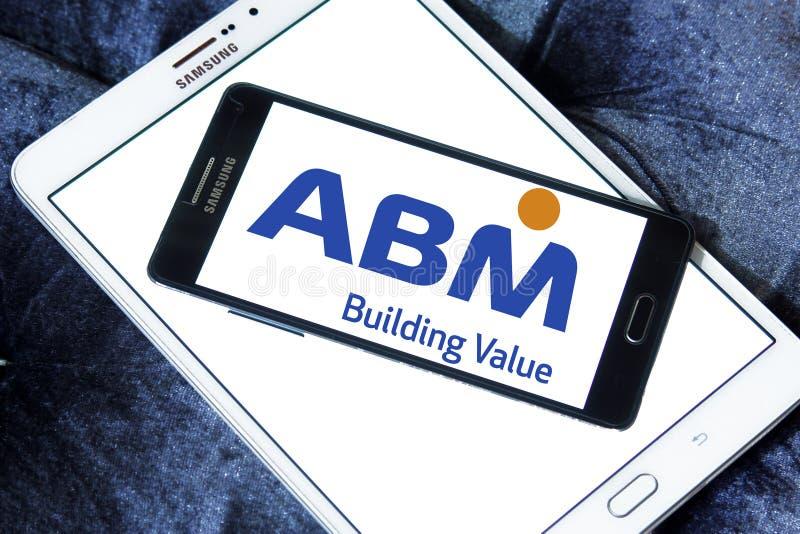 ABM λογότυπο βιομηχανιών στοκ φωτογραφία