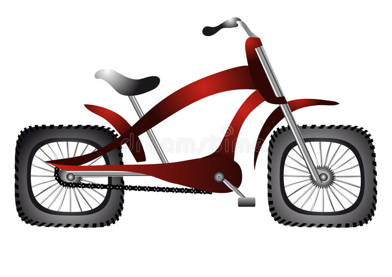 Download Abnormal bicycle stock illustration. Image of transportation - 29837633