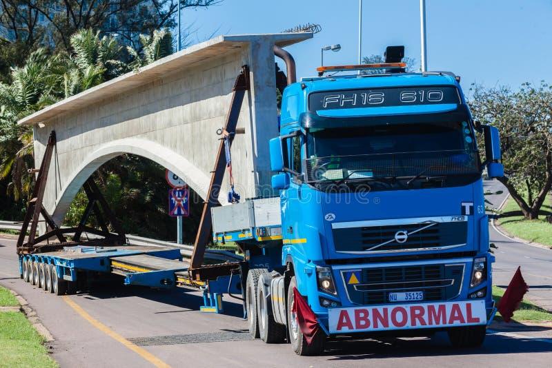 Abnormal Truck Trailer Heavy Load