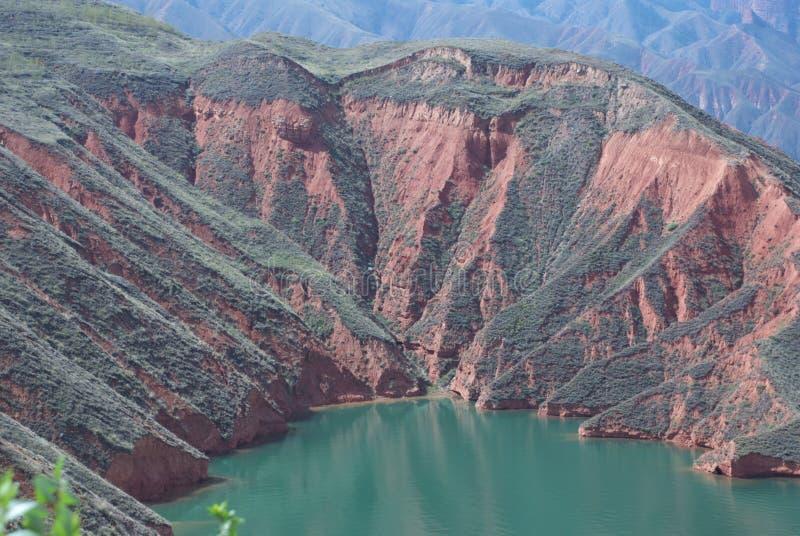 Abnutzung auf Berg lizenzfreies stockbild