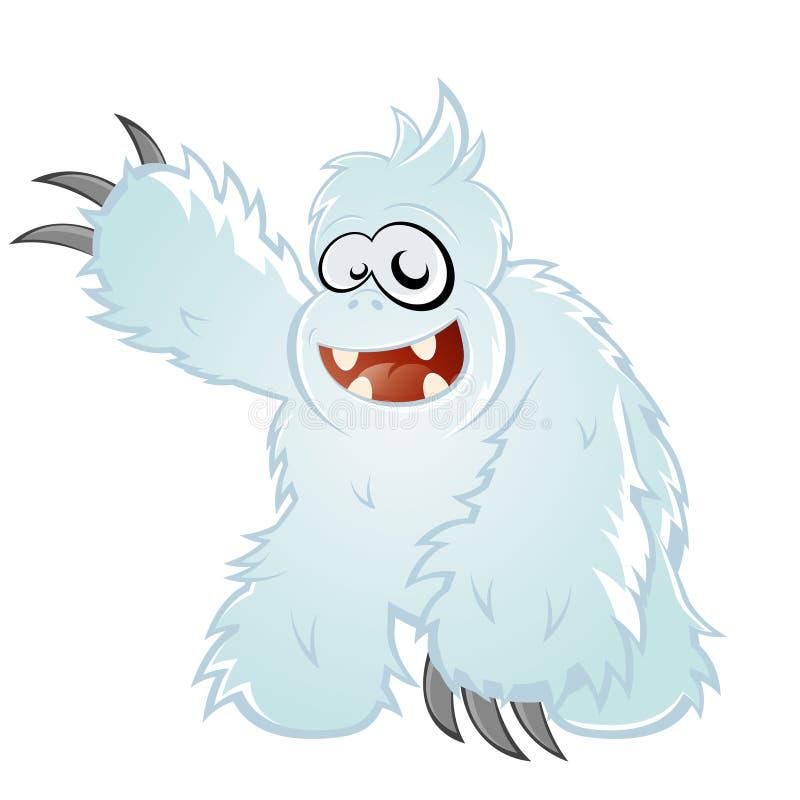 Abominable Snowman Cartoon stock vector. Illustration of ...