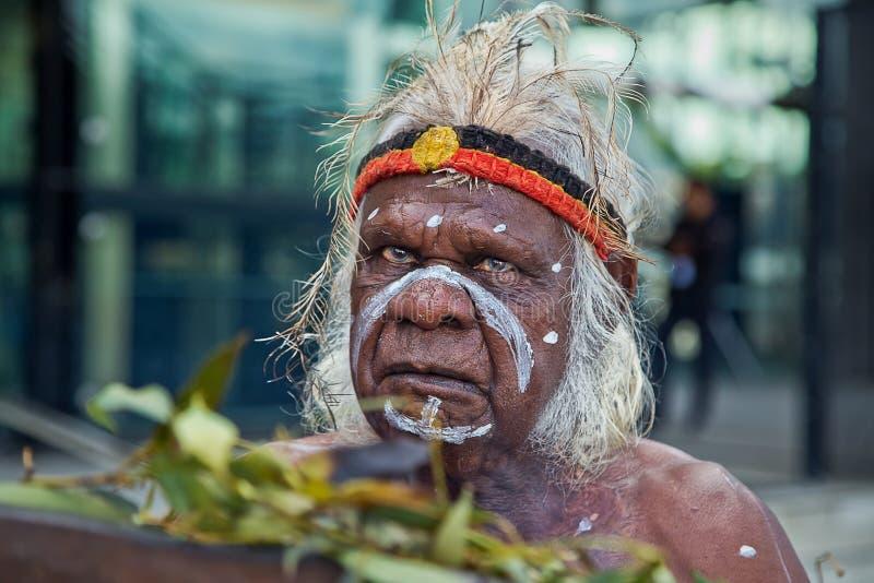 Aborigen australiano imágenes de archivo libres de regalías