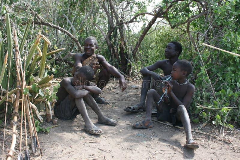 aboriginals Αφρική mens Τανζανία στοκ φωτογραφίες