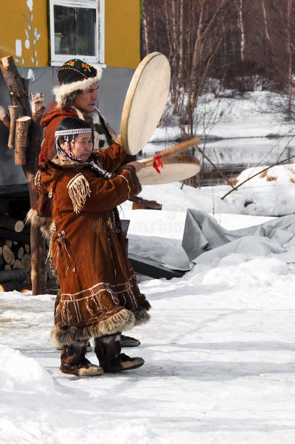 Aboriginals του Βορρά Russsia στοκ φωτογραφία με δικαίωμα ελεύθερης χρήσης