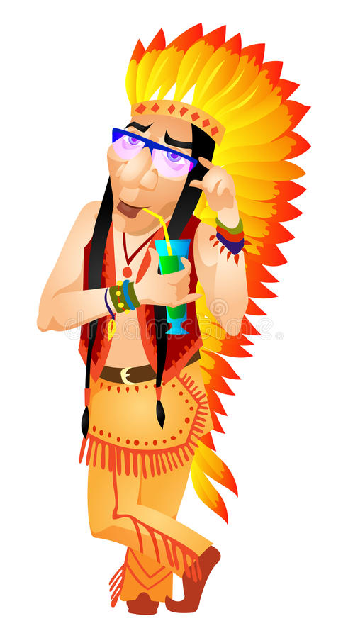 Download Aborigine stock vector. Illustration of party, indigenous - 31317599