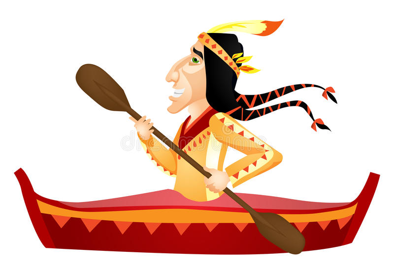 Download Aborigine stock vector. Image of exercise, kayaking, activity - 31335334