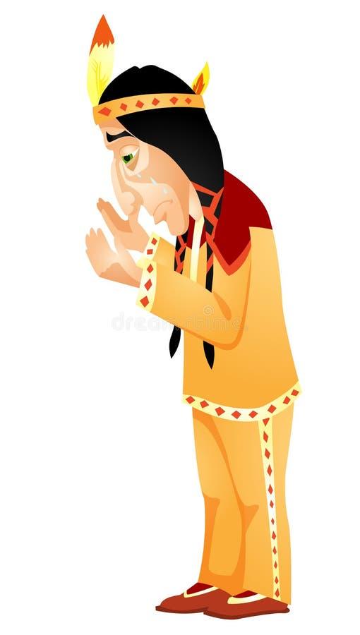 Download Aborigine stock vector. Image of confusion, headwear - 31535958