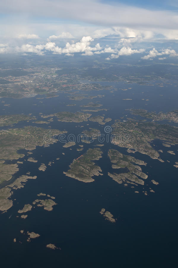 Download From above stock image. Image of coast, water, skerry - 24861167