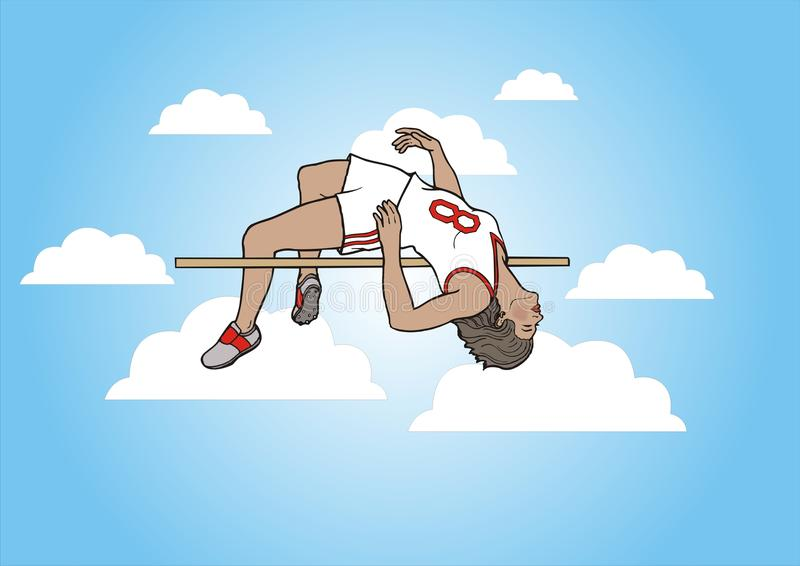 Download Above The Clouds stock illustration. Image of height - 12935030