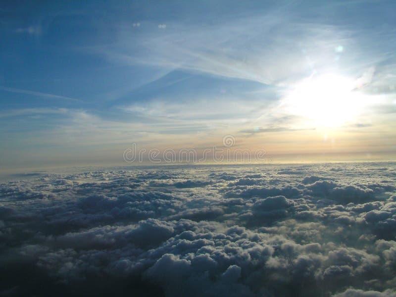 Above Clouds Στοκ Φωτογραφίες