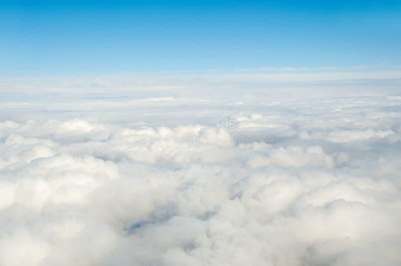 Above clouds stock photos