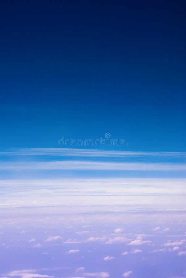 above clouds στοκ εικόνες