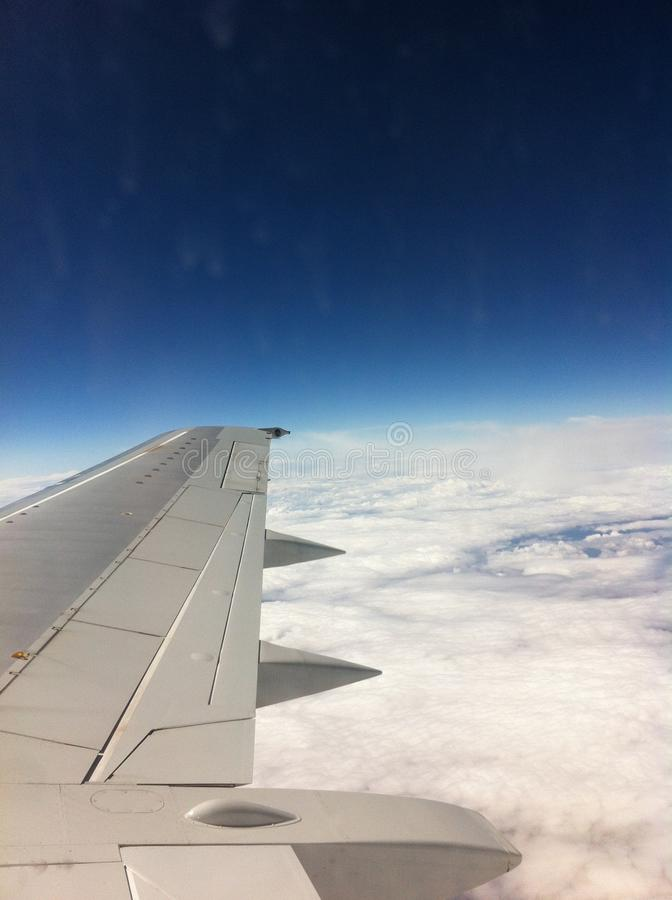 Above the Clouds OMW to Spain Honeymoon royalty free stock images