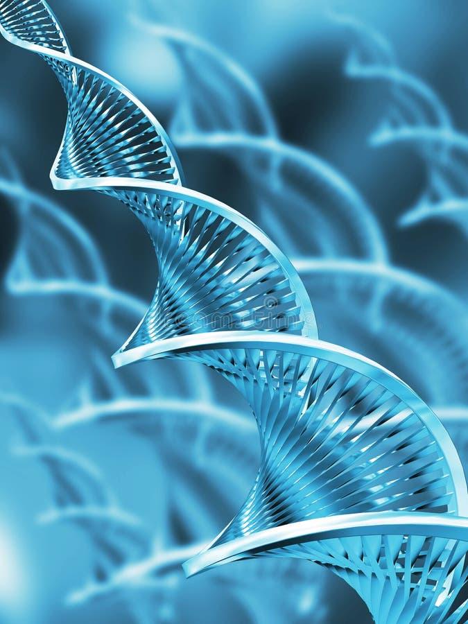 Abrégé sur ADN illustration de vecteur