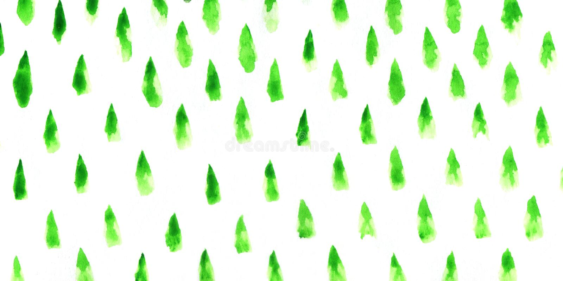 Abrégé sur arbres de Noël illustration stock