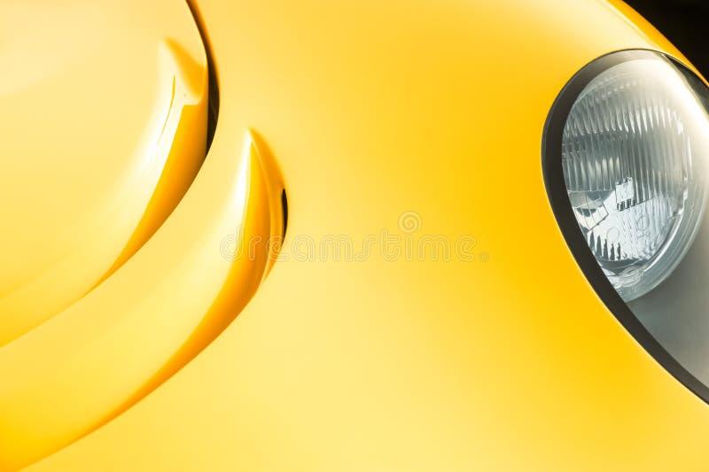 Abrégé sur automatique d'or panneau photographie stock libre de droits