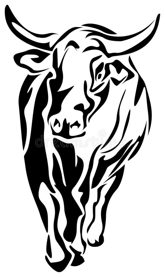 Abrégé sur bison illustration libre de droits