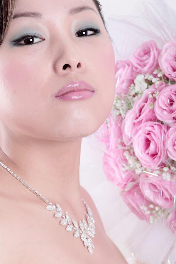 Abrégé sur chinois mariée photos stock