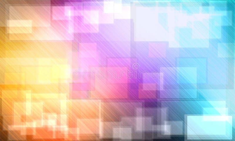 Abrégé sur coloré Bokeh de fond images libres de droits