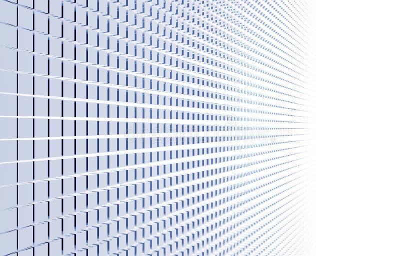 Abrégé sur cubes illustration stock