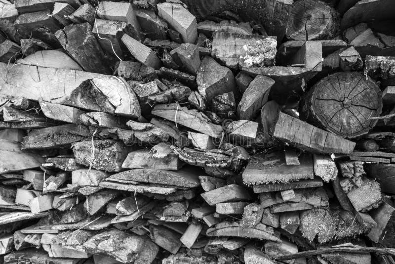 Abrégé sur en bois de pile photos stock