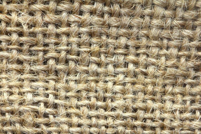 Abrégé sur fond de texture de sac à jute - série 2 photo libre de droits