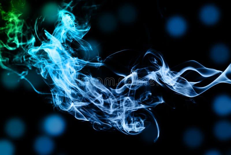 Abrégé sur fumée photographie stock libre de droits