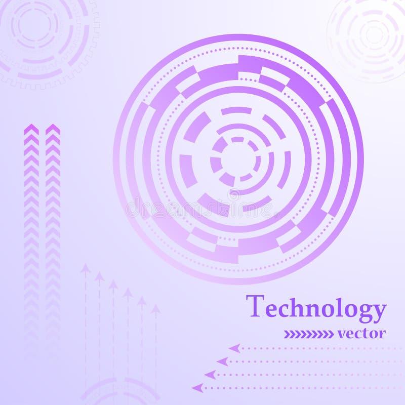 Abrégé sur HUD de technologie image libre de droits