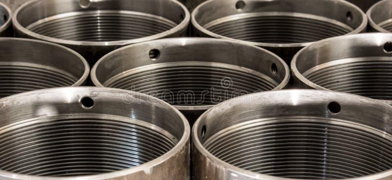 Abrégé sur industriel en métal photos stock