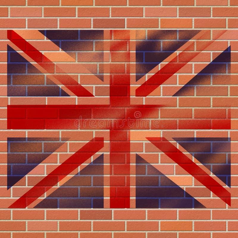 Abrégé sur Jack Shows Great Britain And des syndicats illustration de vecteur
