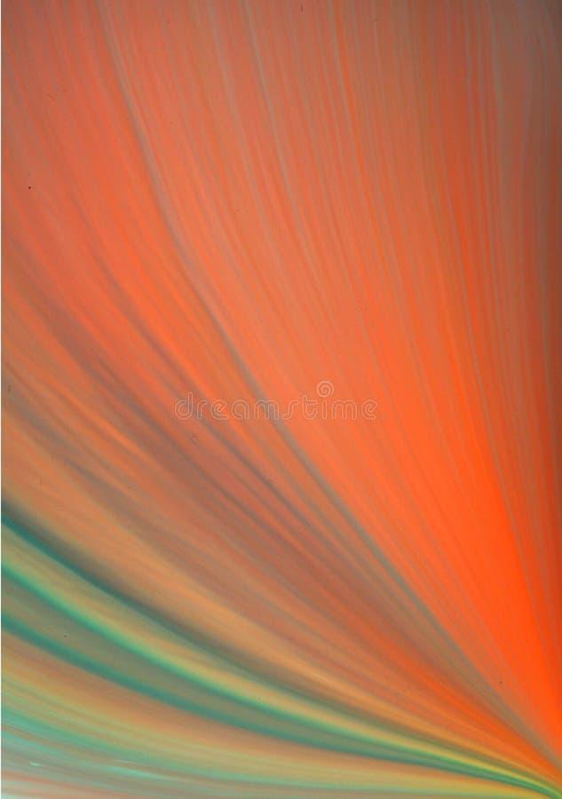 Abrégé sur liquide peinture image stock
