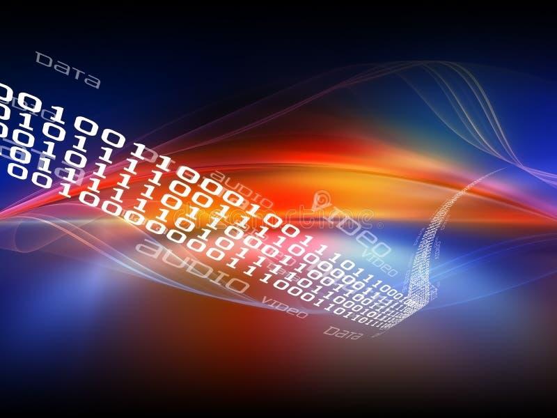 Abrégé sur moderne technologie illustration libre de droits