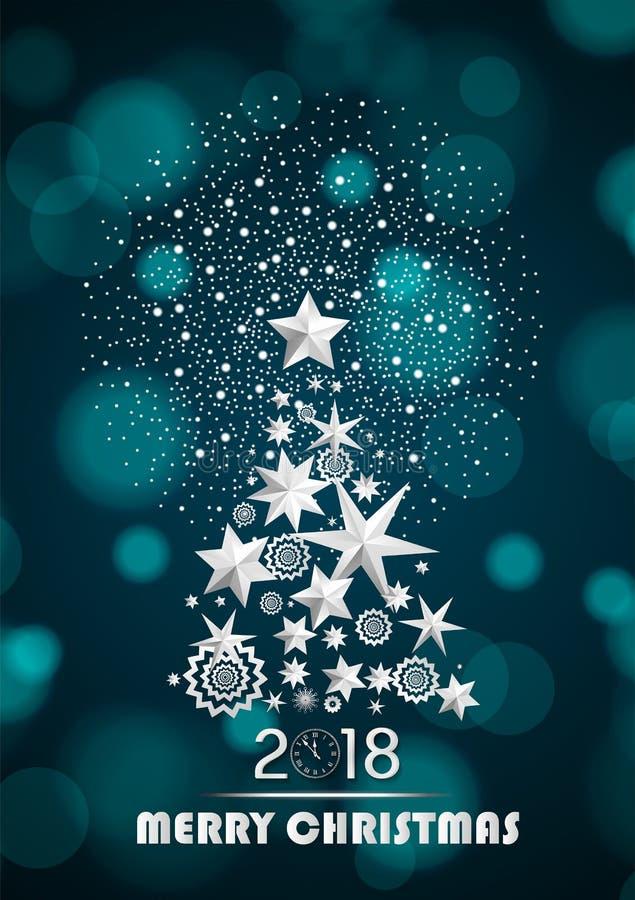 noel 2018 a la neige Abrégé Sur Noël Et La Nouvelle Année 2018 Avec L'arbre De Noël  noel 2018 a la neige
