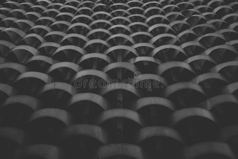 Abrégé sur noir cadre de texture de modèle en métal photos stock