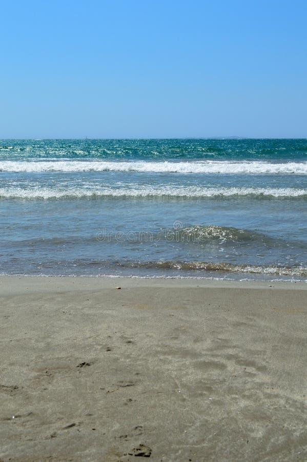 Abrégé sur plage photo stock