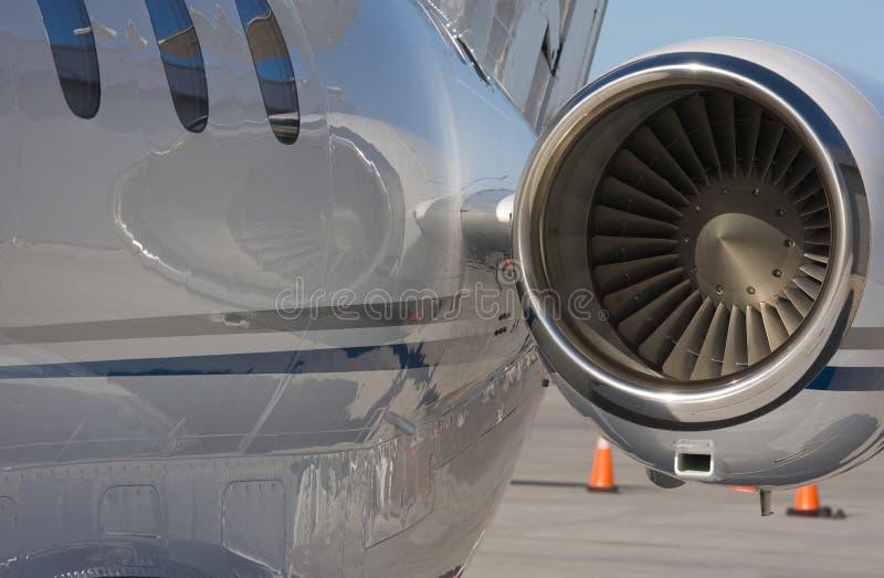 Abrégé sur privé avion à réaction photos libres de droits