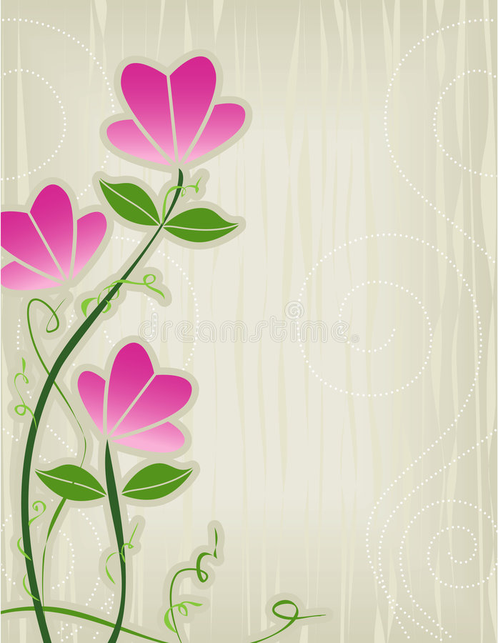 Abrégé sur rose fleur illustration libre de droits