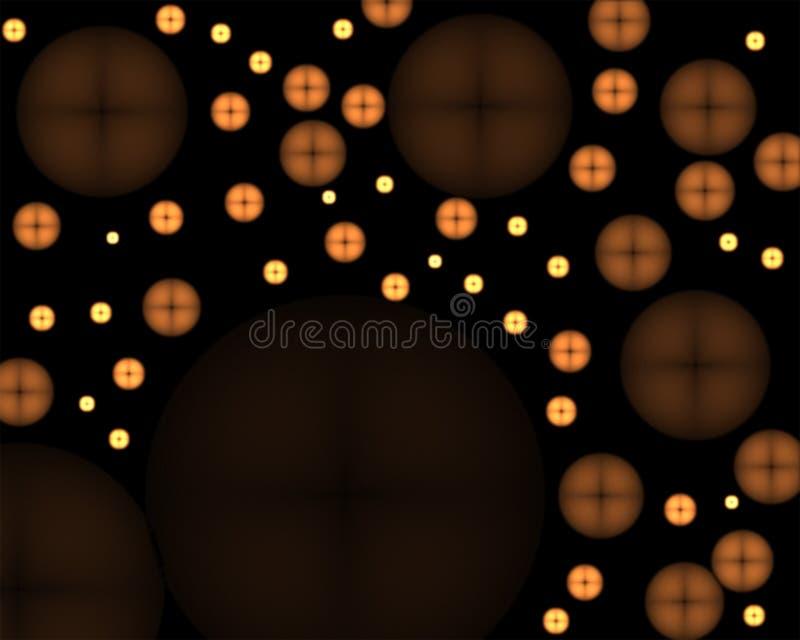 Abrégé sur rougeoyant boutons photos libres de droits