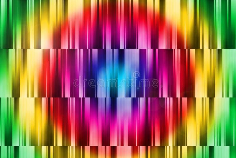 Abrégez le fond avec la configuration faite au hasard brillante colorée illustration libre de droits