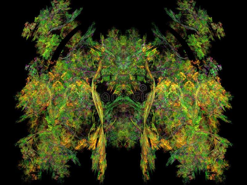 abrégez le fond Collage de Digital illustration libre de droits