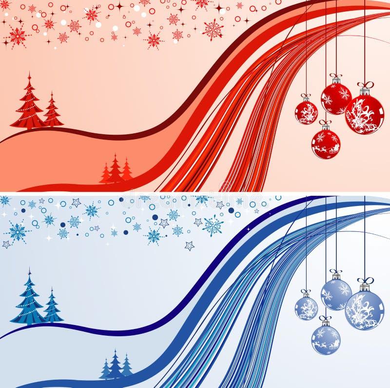 Abrégez le fond de Noël illustration libre de droits
