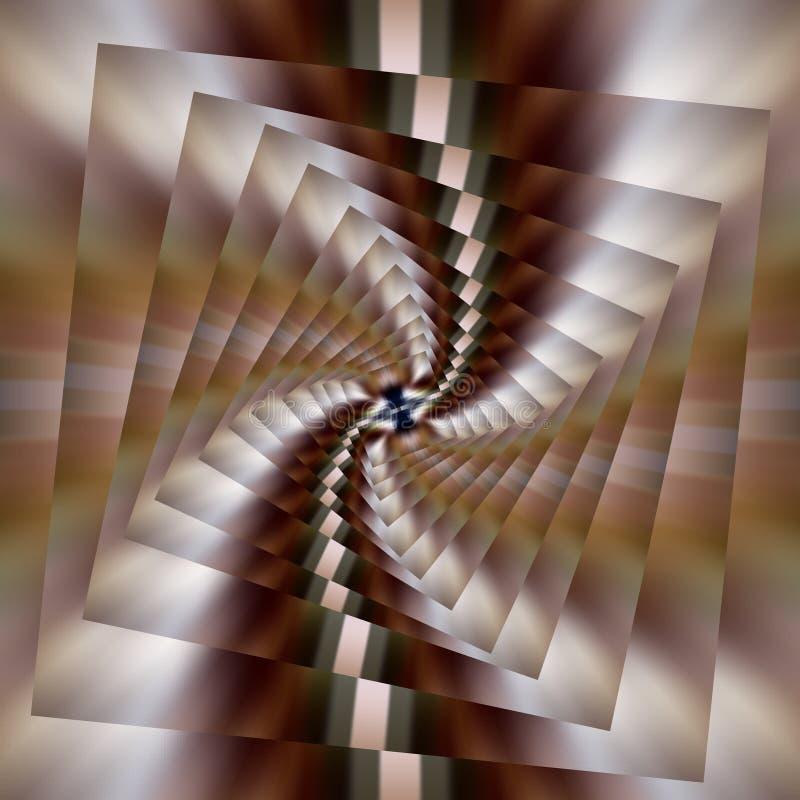 abrégez le fond Vecteur Effet onduleux Image de recouvrement sur l'image illustration libre de droits